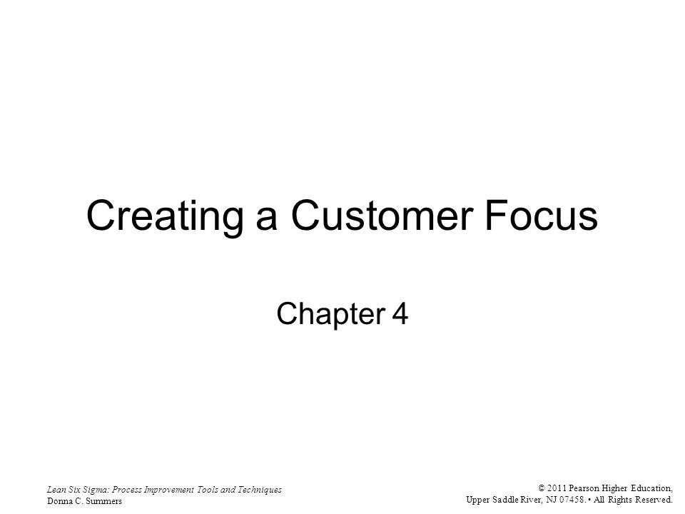 Creating a Customer Focus - ppt video online download