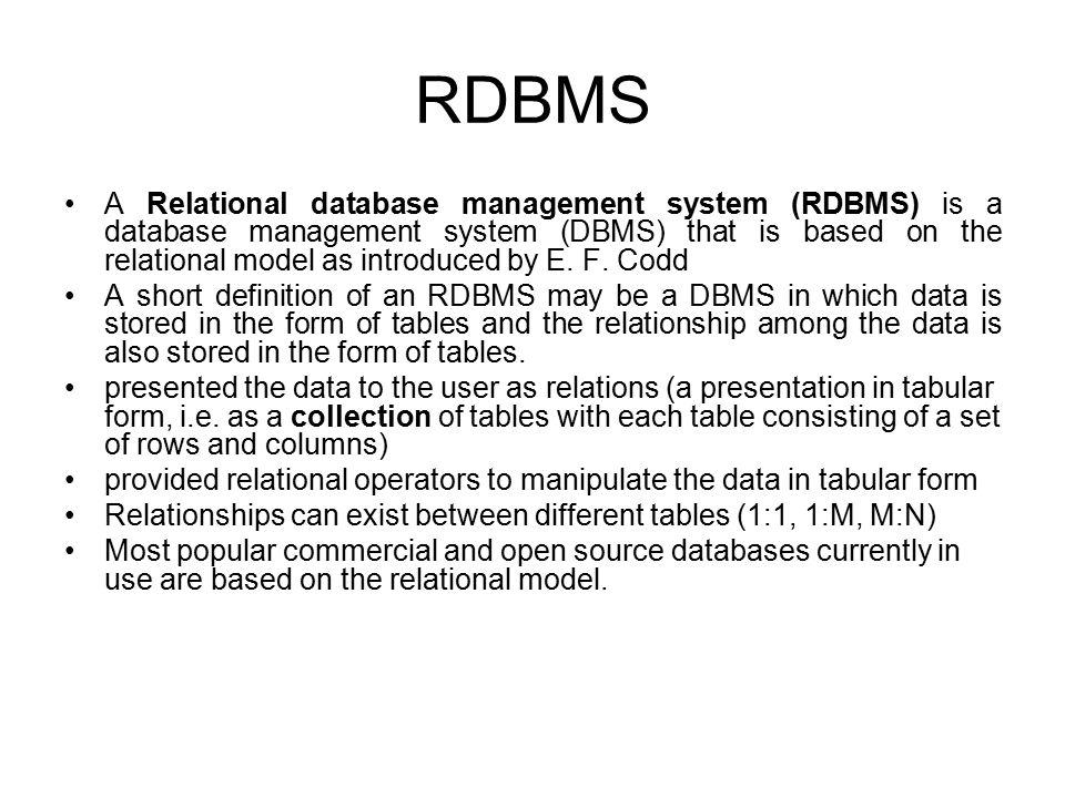 Database Management System - ppt video online download