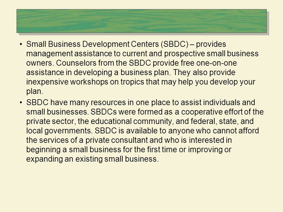 The Business Plan A business plan is a document that sets out the
