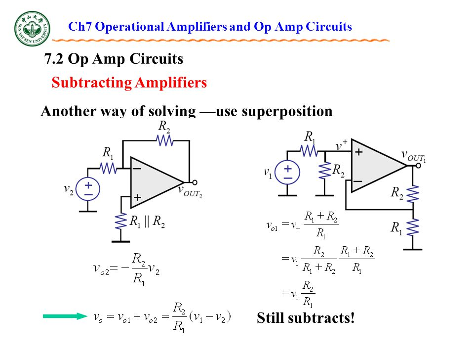 Solving Op Amp Circuit Control Cables  Wiring Diagram