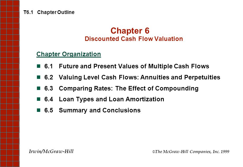 Chapter 6 Discounted Cash Flow Valuation - ppt video online download