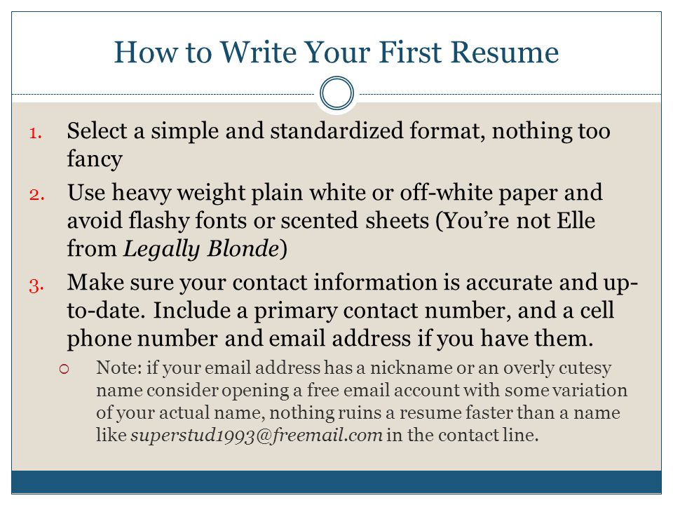 Finding Your First Job - ppt video online download