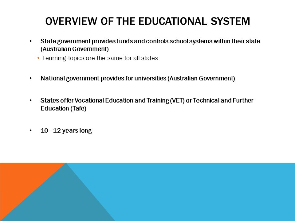Education in Australia - ppt download
