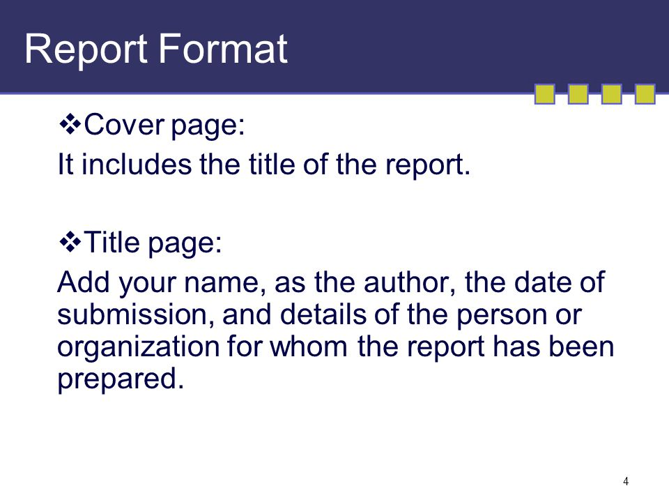 Report Writing Format - ppt video online download - the report format