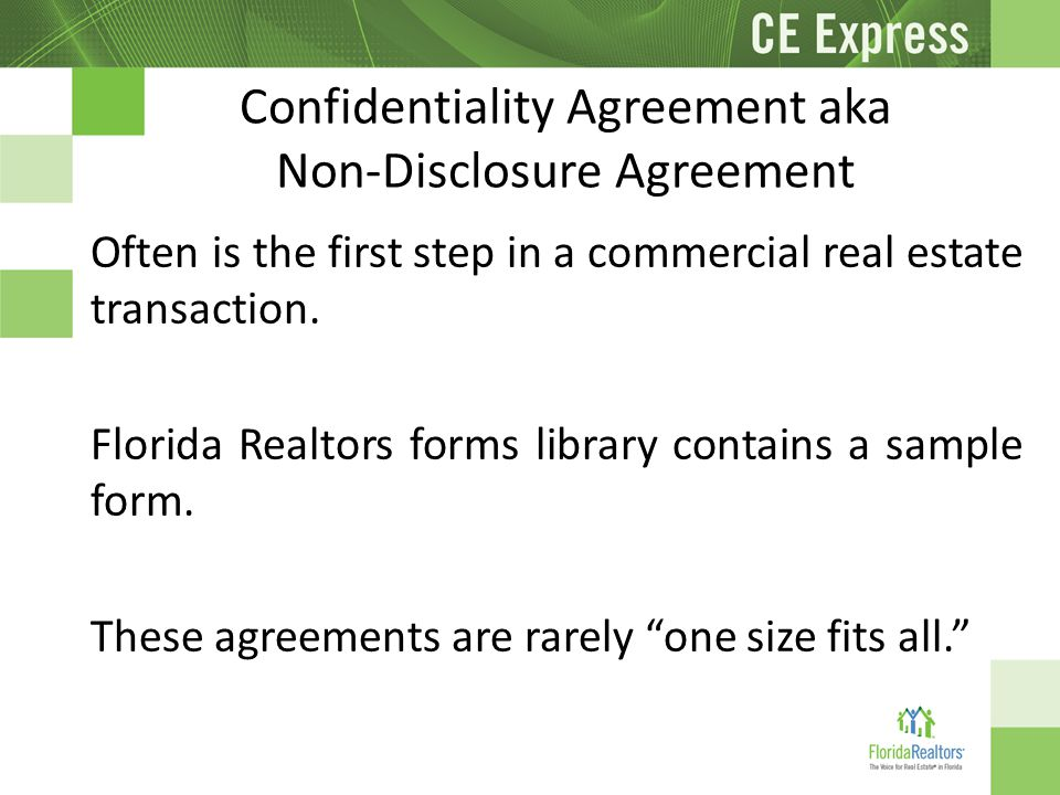 Real Estate Confidentiality Agreement Template Dnio