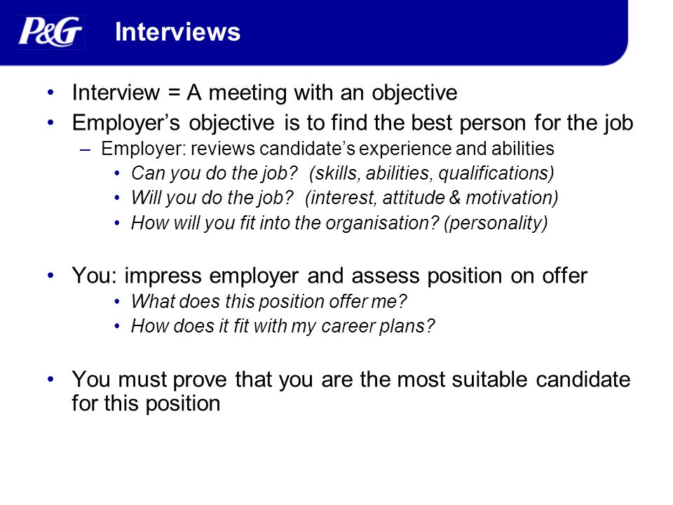 Successful Interviews - ppt video online download