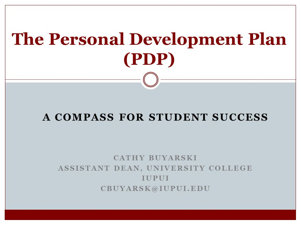 The Personal Development Plan (PDP) - ppt video online download