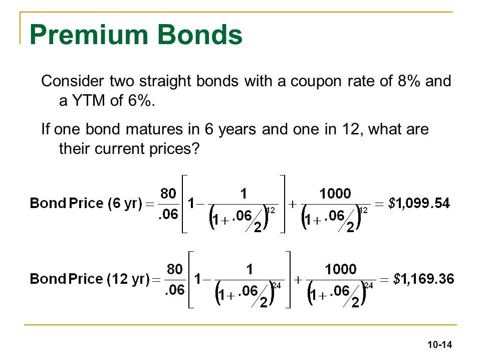 Chapter 10 Bond Prices and Yields 4/19/ ppt download