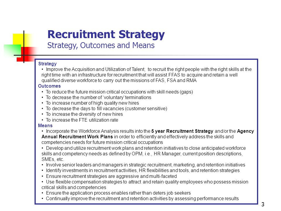 Strategic Management of Human Capital Recruitment Strategy - ppt