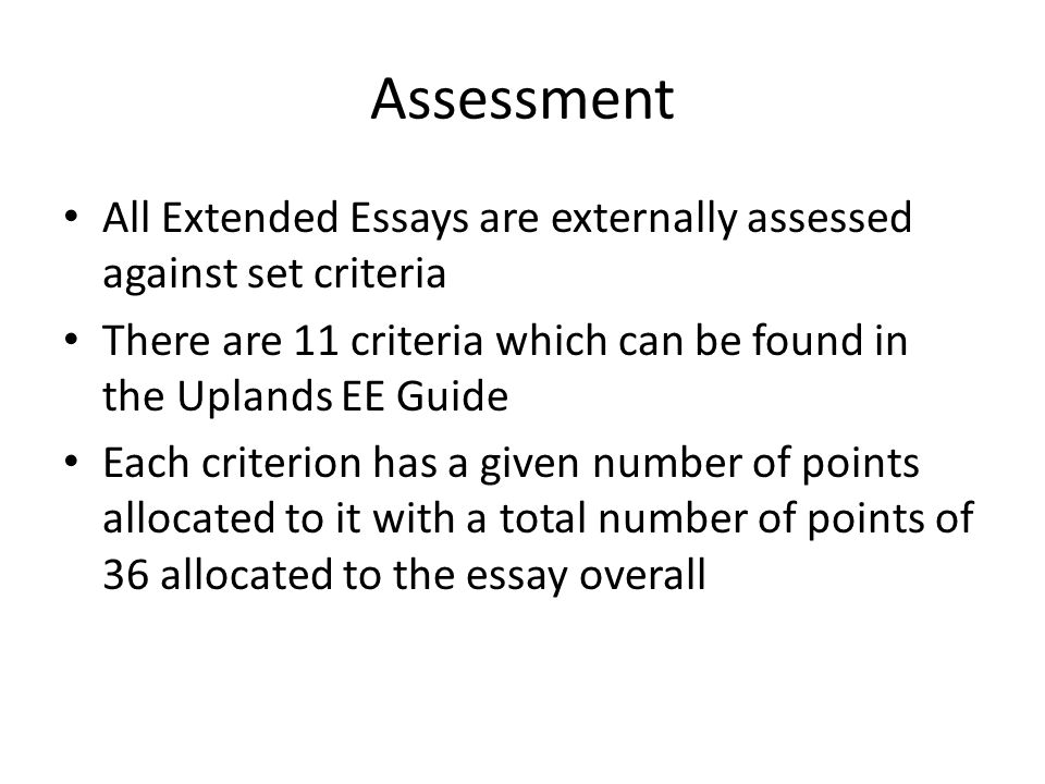 Extended essay criteria for biology Homework Academic Writing Service