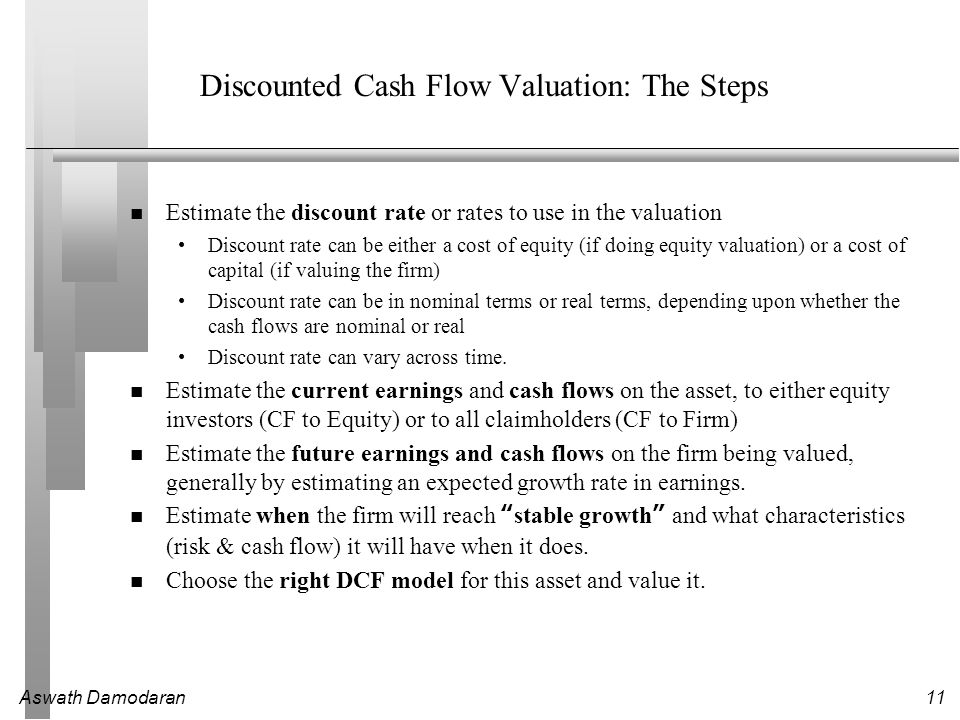 Valuation Part I Discounted Cash Flow Valuation - ppt download
