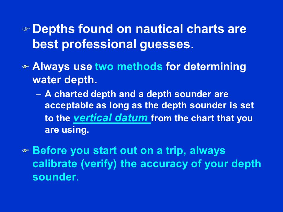 Session 1 Nautical Charts - ppt video online download