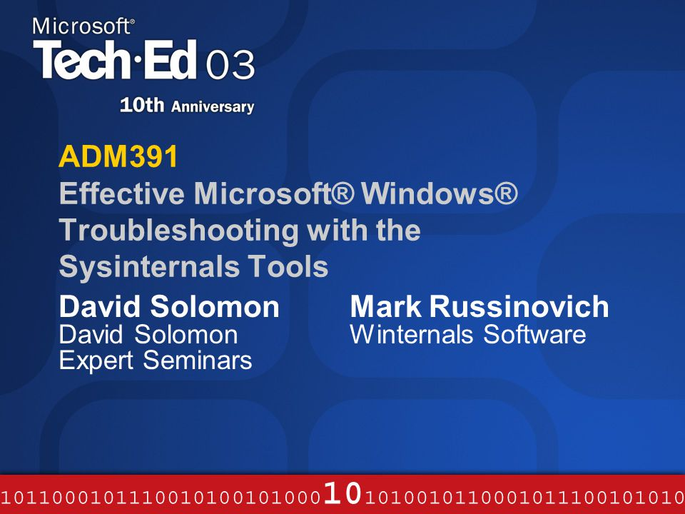 David Solomon David Solomon Expert Seminars - ppt video online download