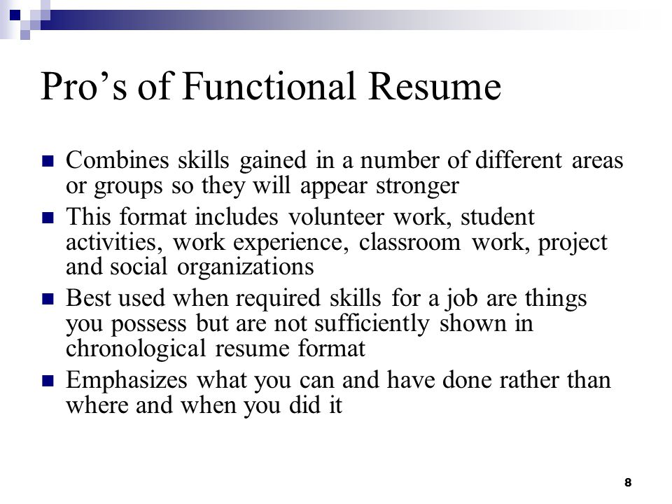 Resume Writing and Interviewing Skills - ppt download - skills used for resume