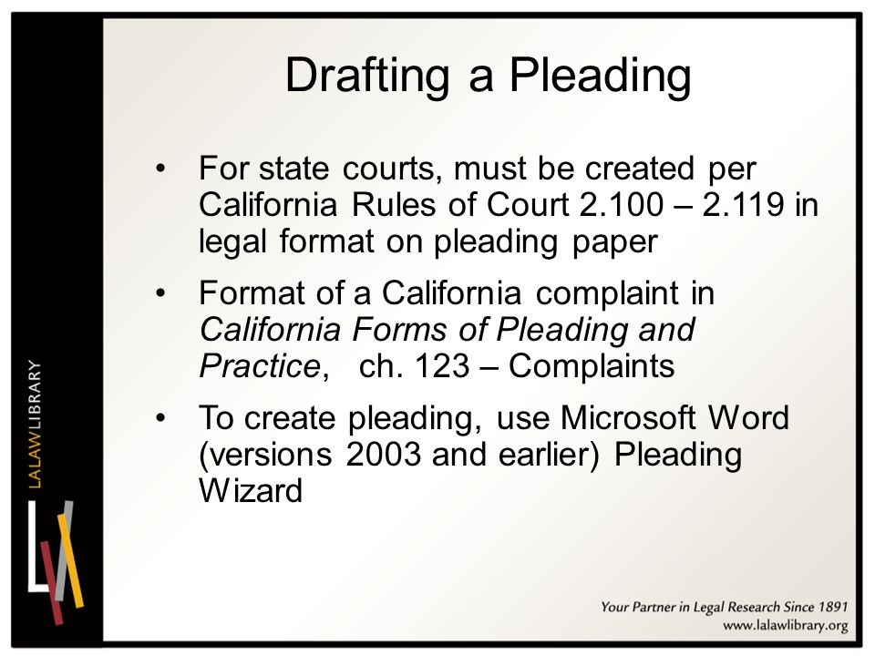 2011 California Conference on Self-Represented Litigants - ppt video