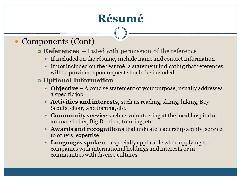 Resume, Business Letter  Memo - ppt download