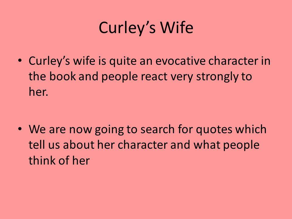 Curley\u0027s wife tart/jailbait or naïve/victim? - ppt video online download