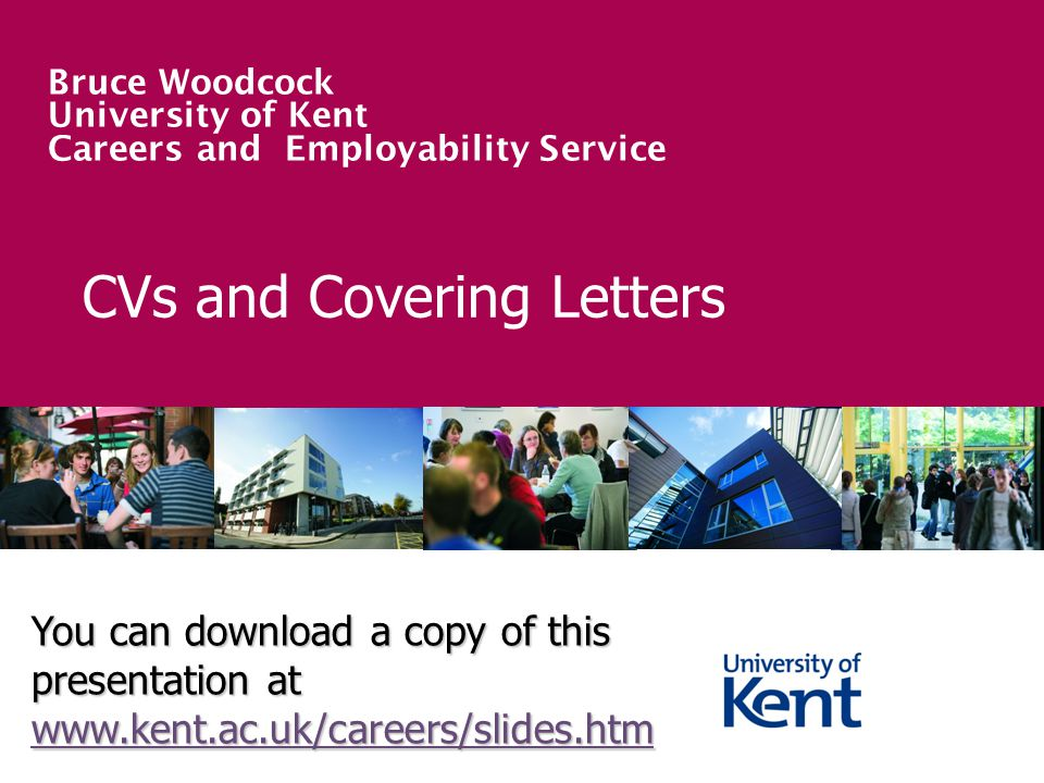 CVs and Covering Letters - ppt video online download