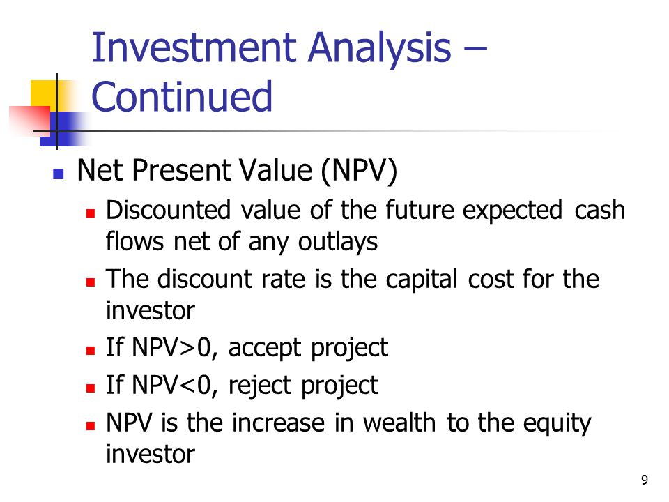 Investment Analysis and Taxation of Income Properties - ppt video