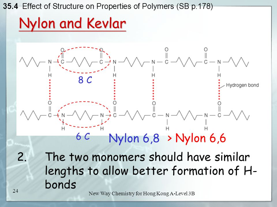 Effect of Structure on Properties of Polymers - ppt video online