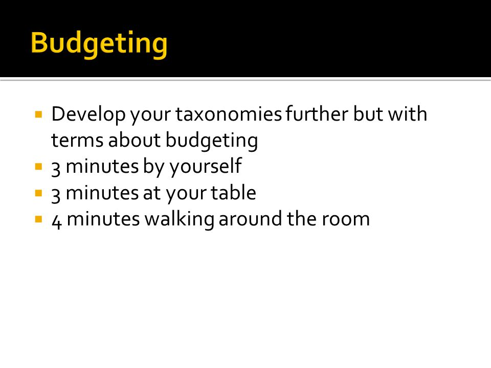 Personal Budgeting - ppt video online download