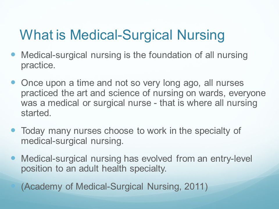 Introduction to Medical-Surgical Nursing - ppt video online download