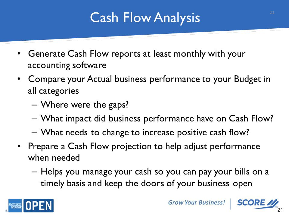 Find Ways to Improve Cash Flow and Profits - ppt download