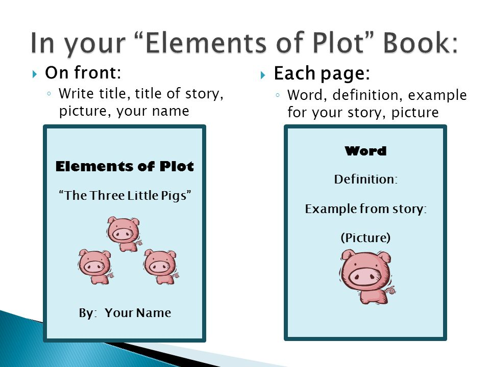 Elements of Plot What\u0027s in a story? - ppt video online download