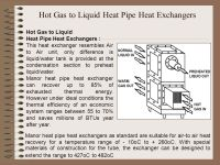HEAT PIPE HEAT EXCHANGERS
