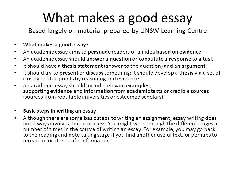 High Quality Essay - Essay Services