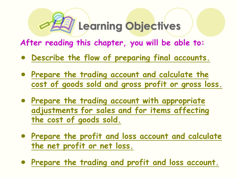 The Trading and Profit and Loss Account and the Balance Sheet - ppt - how to prepare profit and loss account