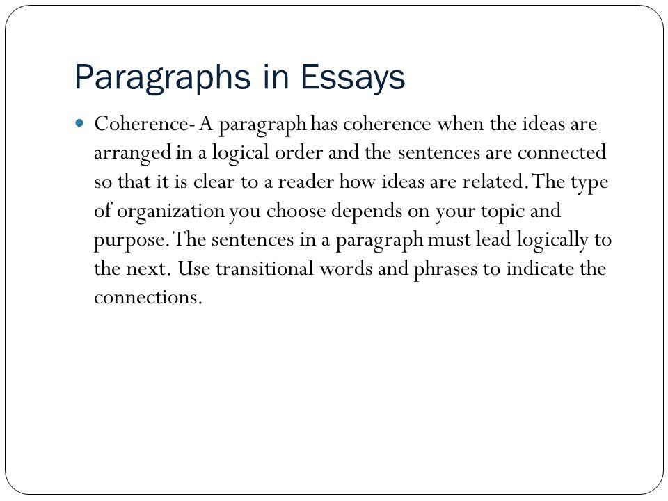 Transition words for essays in college Essay Writing Service