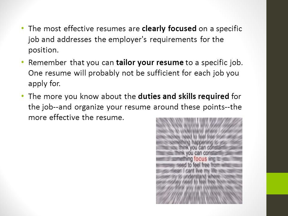 Cover Letter, Resume and References - ppt video online download - how to organize resume