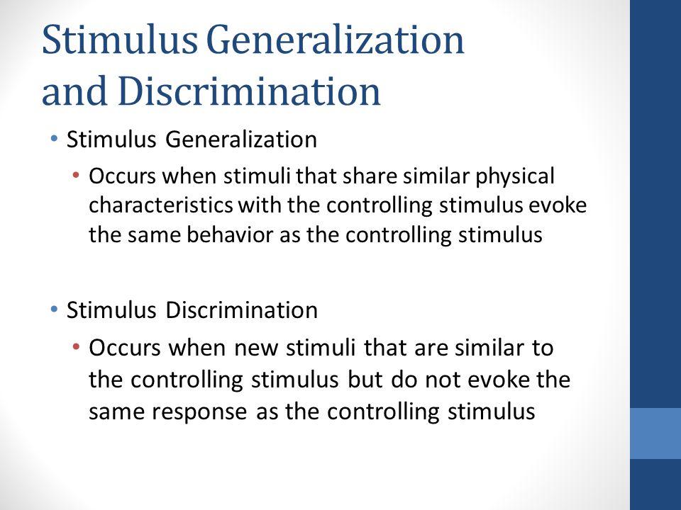 Stimulus Control - ppt download
