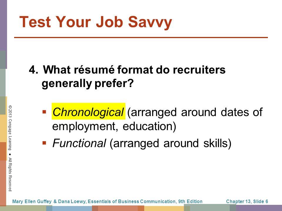 The Job Search, Résumés, and Cover Letters - ppt download