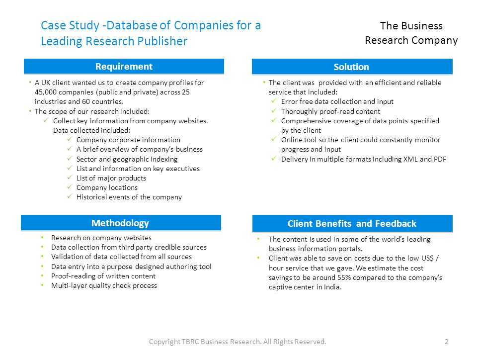 The Business Research Company - ppt download