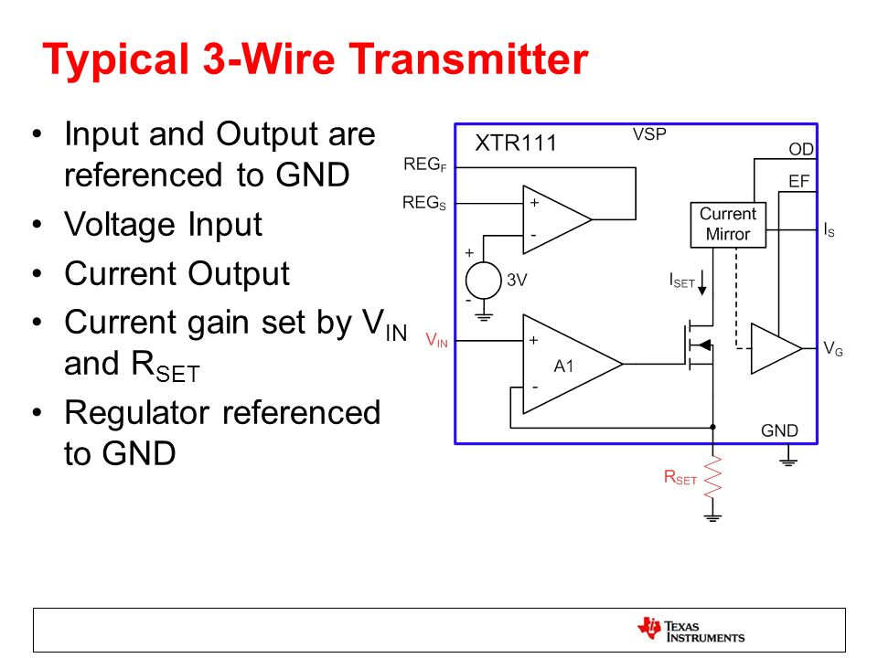 2-Wire vs 3-Wire Transmitters - ppt download