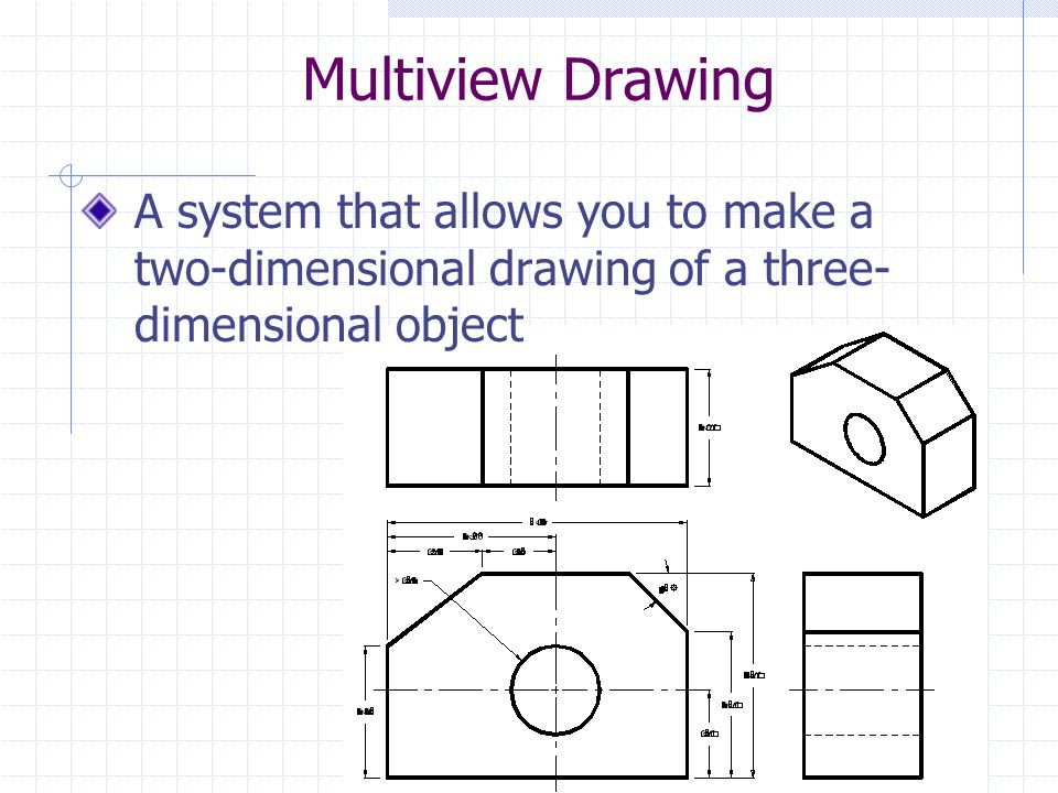 multi view drawing