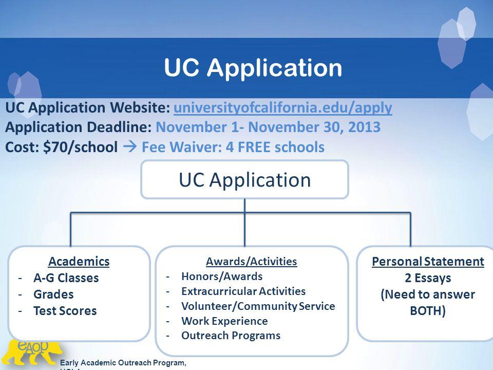 Uc application essays 2013 Custom paper Help wmassignmentsjmf