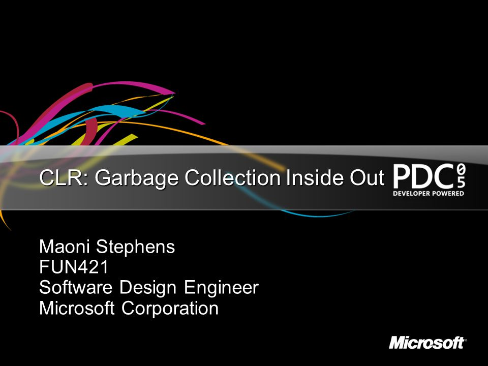 CLR Garbage Collection Inside Out - ppt video online download