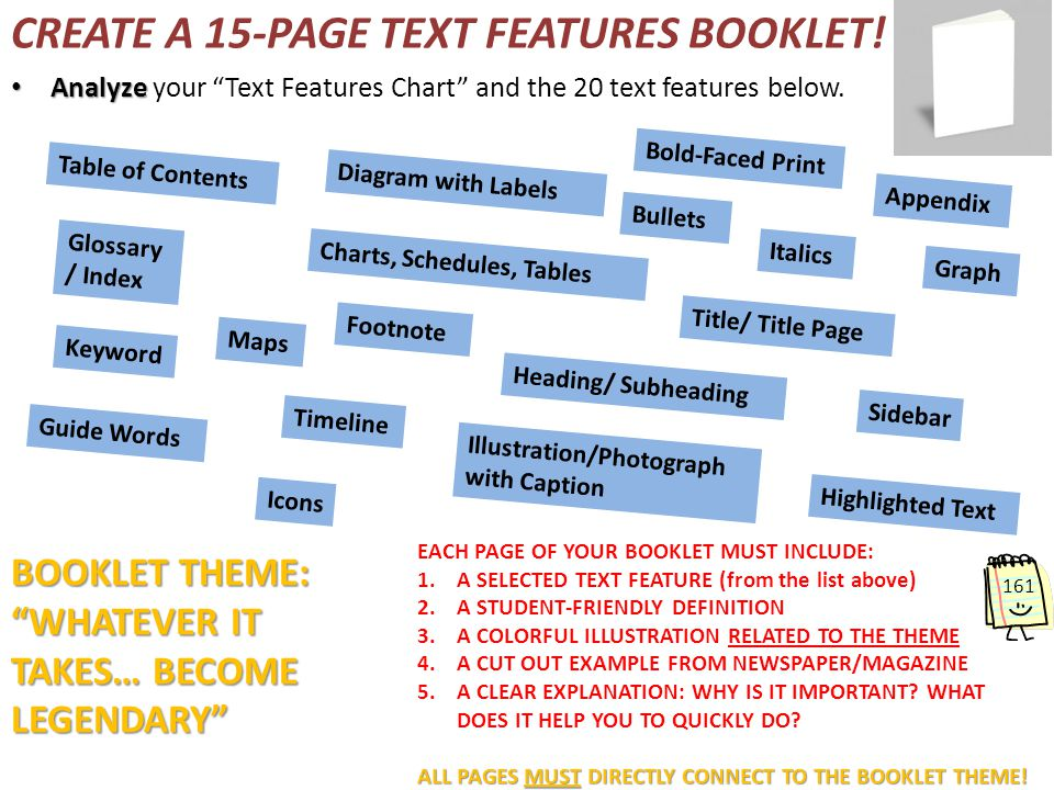 TEXT FEATURES - ppt download