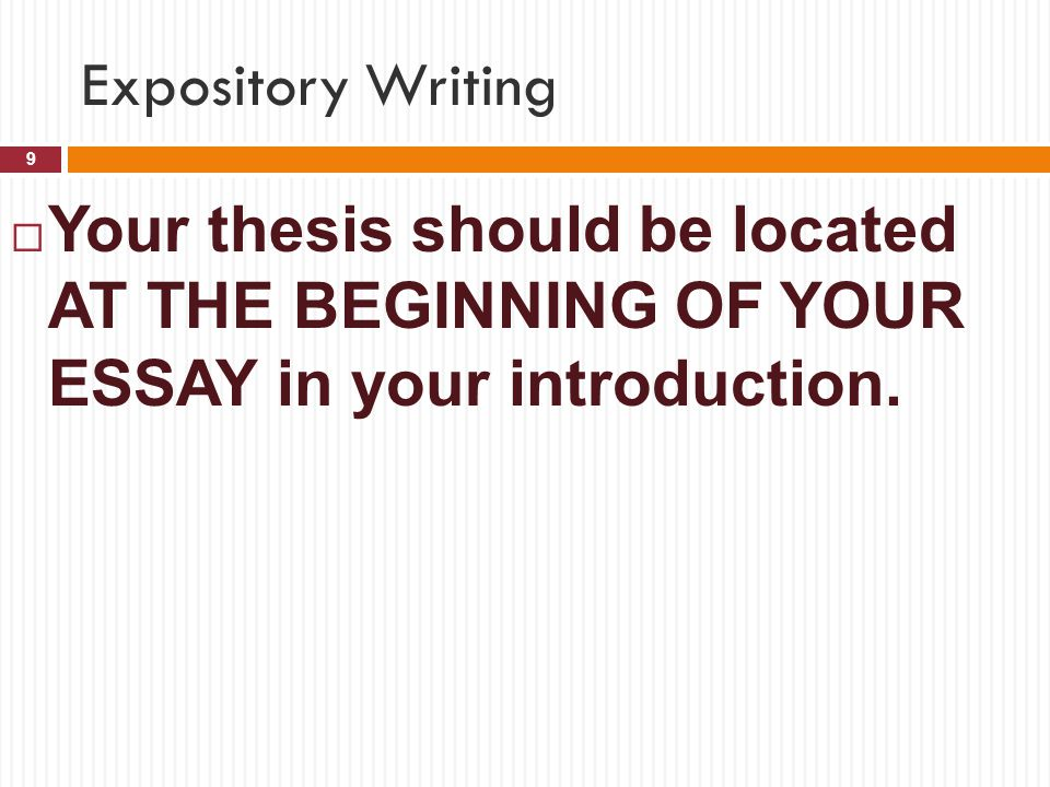 Powerpoint presentation expository essay writing Term paper Help