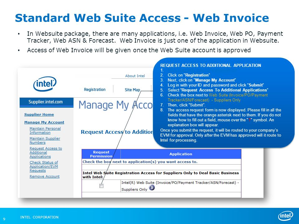 Intel Federal LLC Web Invoice - ppt video online download