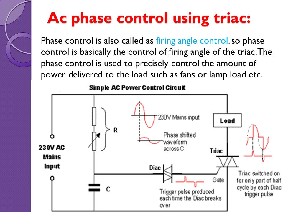 Thyristor application  photosensitive control circuits - ppt video
