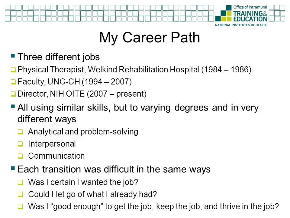 Planning For Career Satisfaction  Success - ppt video online download - planning a career path