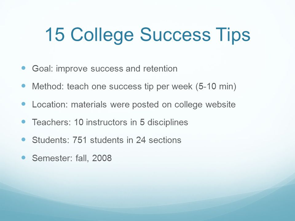 Strengthening Student Success - ppt download