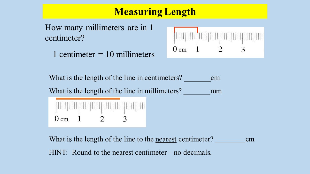 10 In Cm Lesson Length Mass And Volume Ppt Download