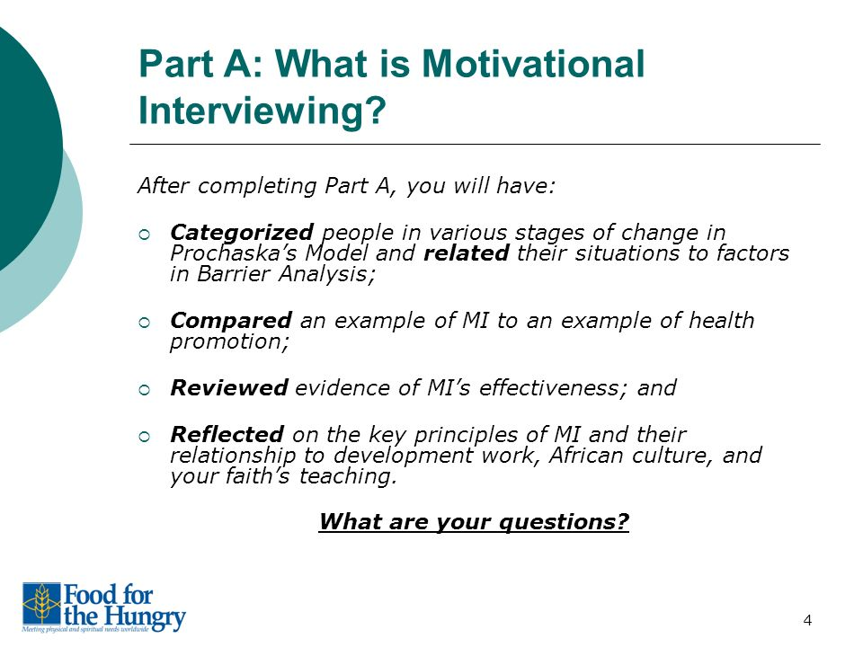 motivational interviewing questions