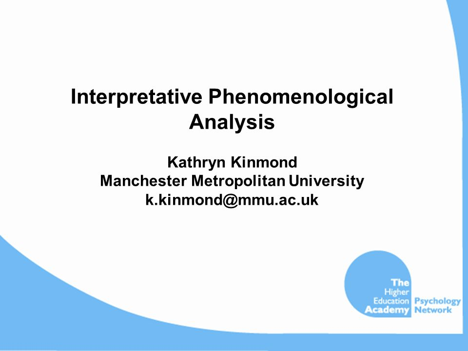 Phenomenological research dissertation Coursework Service