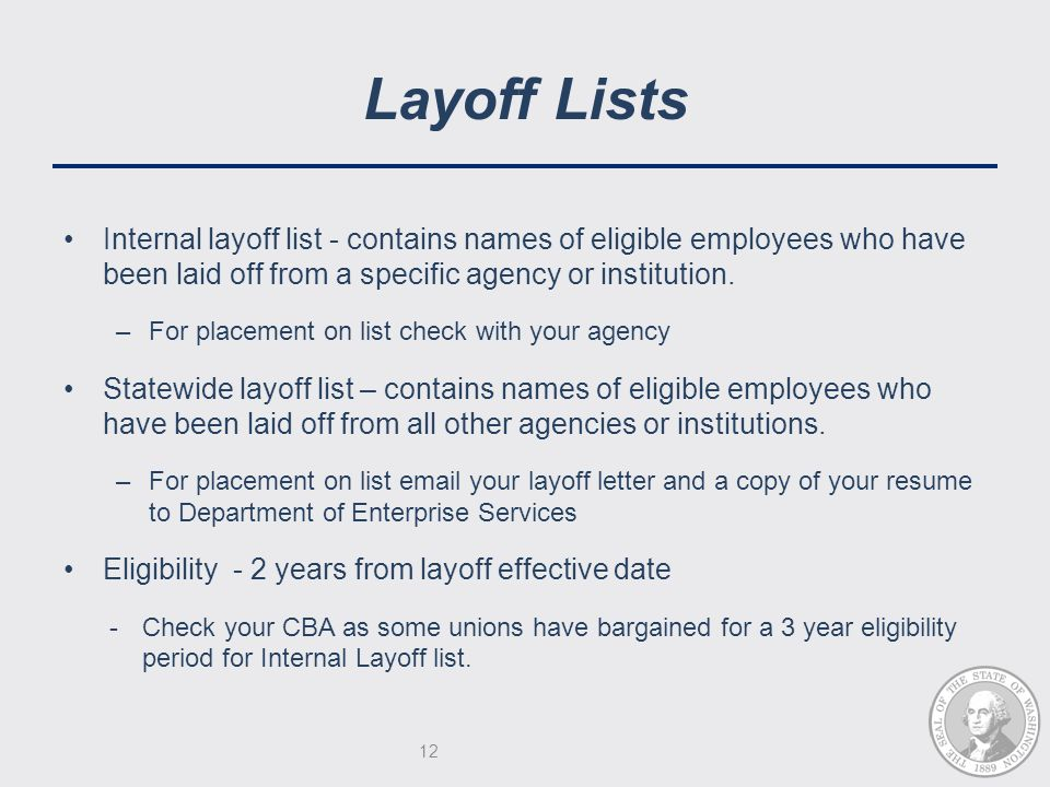 32 Layoff Letter Example - Ambfaizelismailseparations process